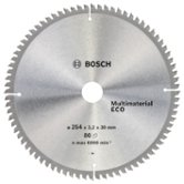 Диск пильный ф254х30 z80 Multimaterial Eco