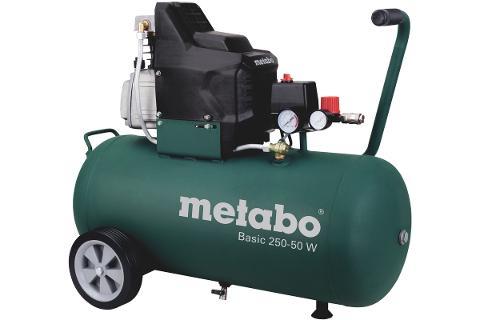 Масляный компрессор Metabo Basic 250-50 W (601534000)  – купить, цена, характеристики - Энкор24