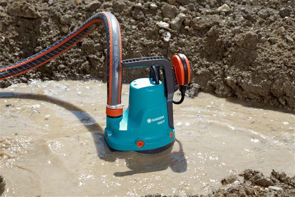 поверхностный насос для откачки грязной воды